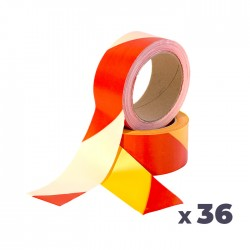 Carton de 36 Rubans de signalisation