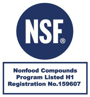 Certification NSF n°159607