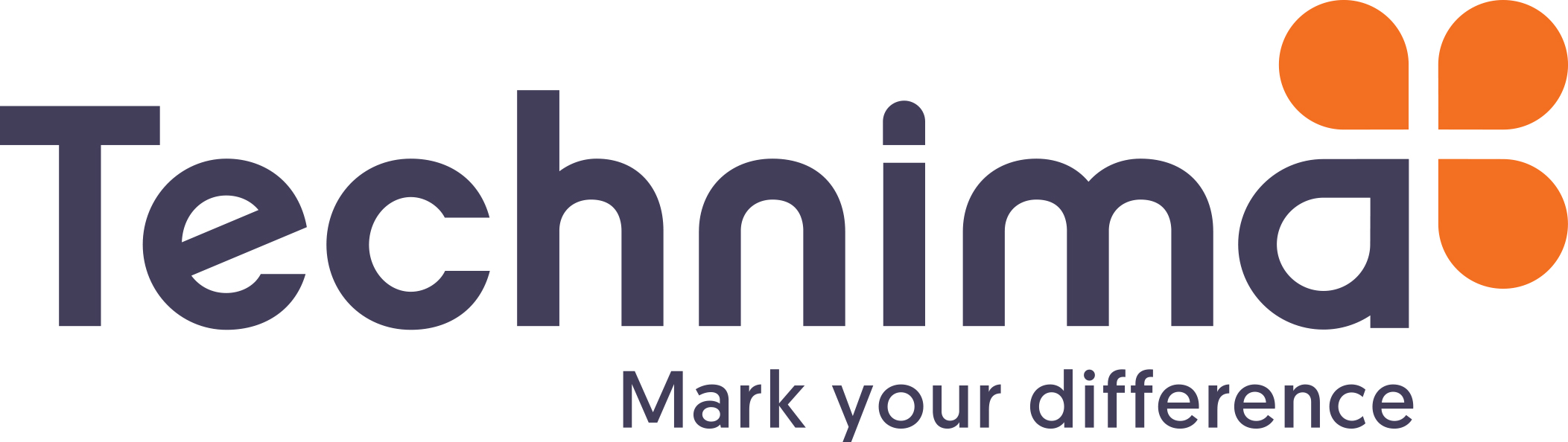 Logo Technima Mark Your Difference