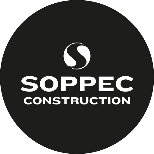 Soppec Construction peintures de marquage chantier