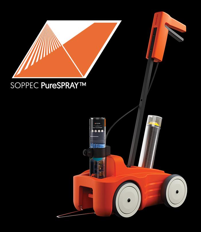 Système de Marquage de Ligne Soppec PureSpray