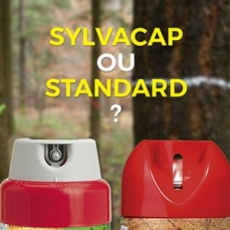 Forestry marking spray paints cap : SYLVACAP or STANDARD cap ?